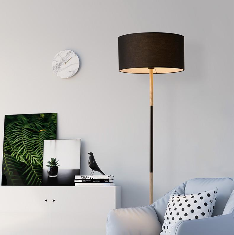 lámpara de pie nórdica