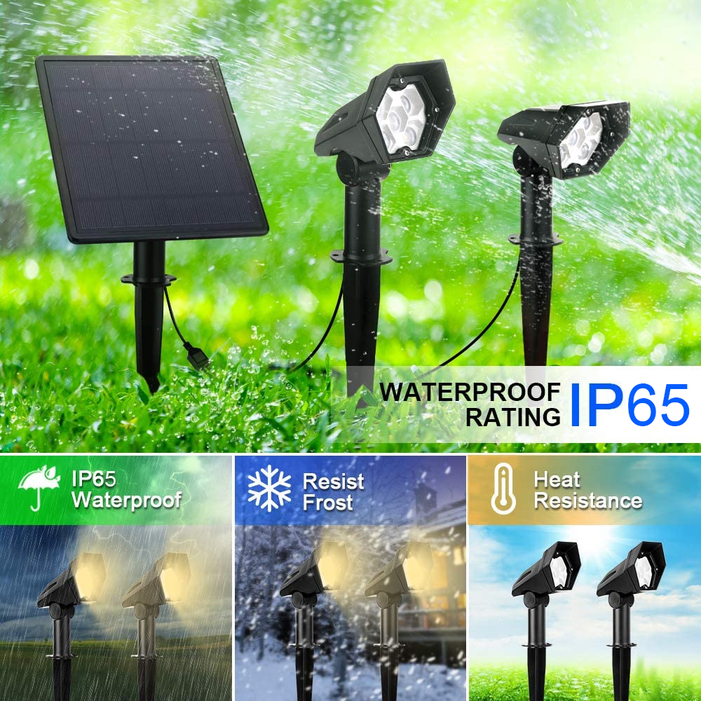 lámpara solar para jardín