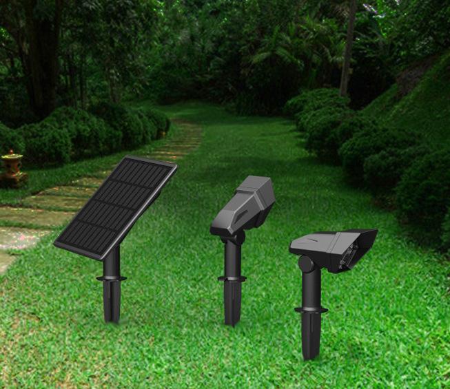 reflector solar para jardín