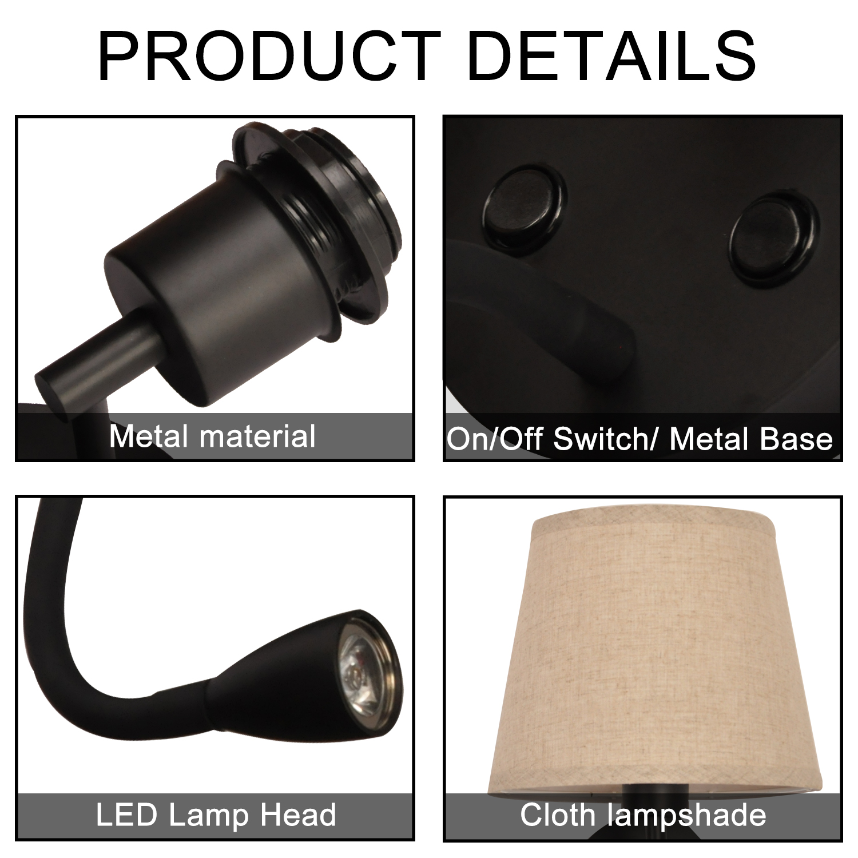 detalles aplique LED