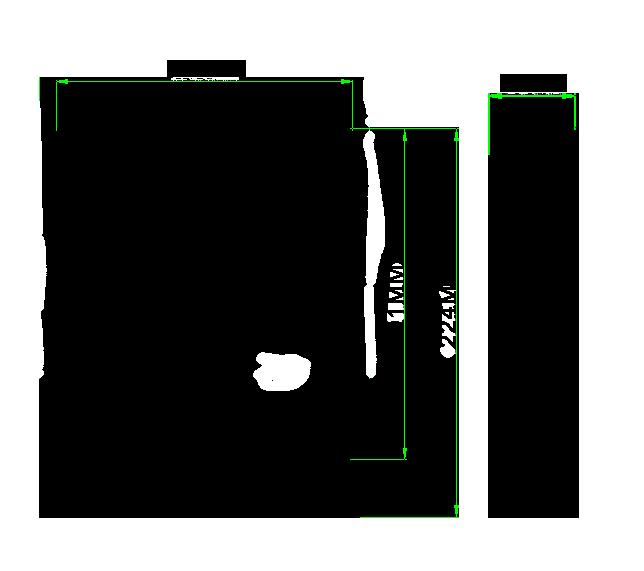 dimensiones proyector LED