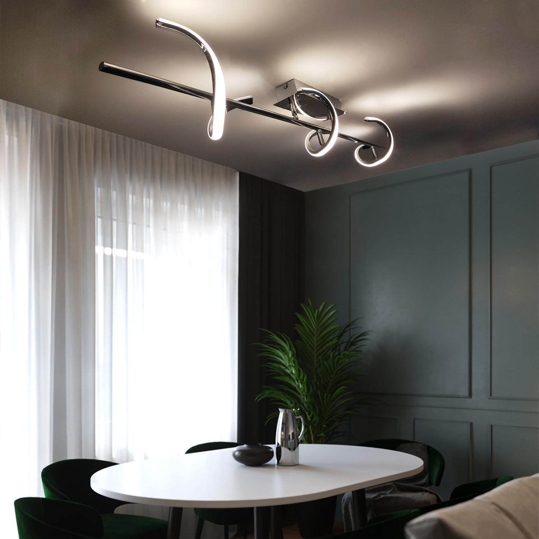 lámpara de techo en salones