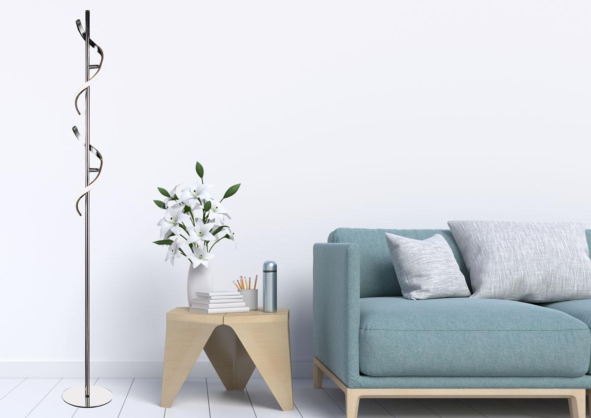 lámpara de pie moderna