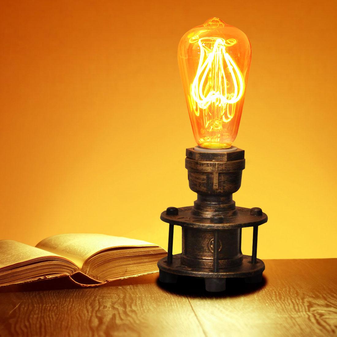 lámparas de mesa diseño vintage