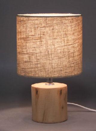lámparas de mesa de madera