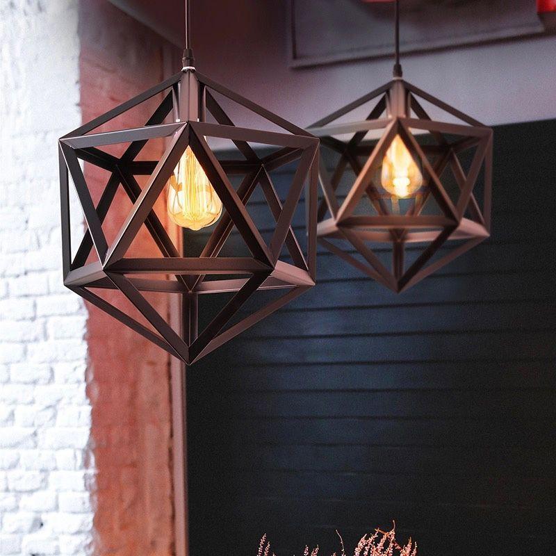 lampara colgante industrial vintage koda