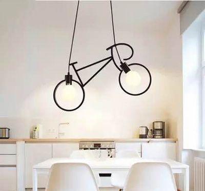 lampara colgante bicicleta