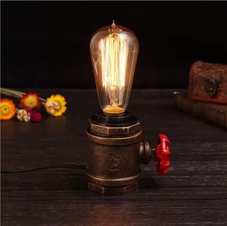 aplicacion lampara de sobremesa luxxo e27 tuberia
