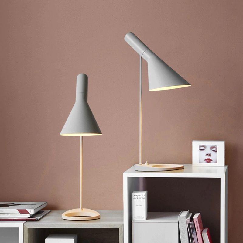 lampara de mesa marlene e27 diseño nordico