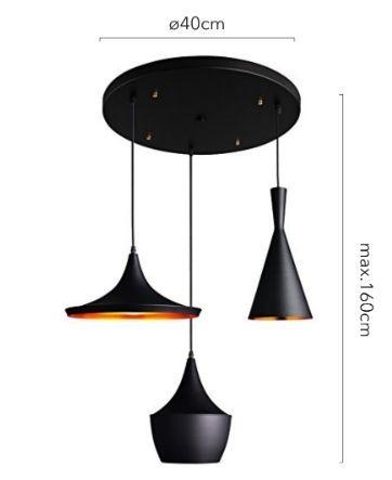 lamparas colgantes modernas