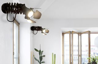 lÁMPARA VINTAGE CINEMA GU10 decoración en iluminación