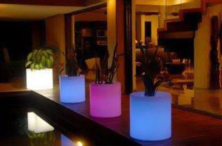 iluminación led en mobiliario