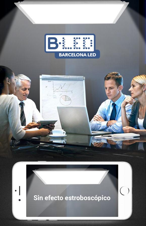 panel led oficina