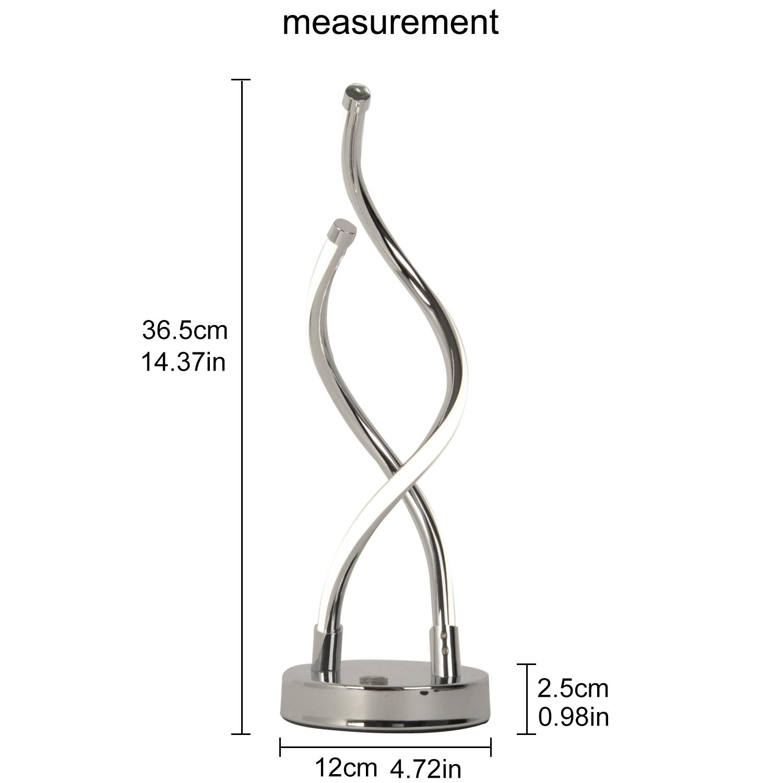 dimensiones lámpara de mesa