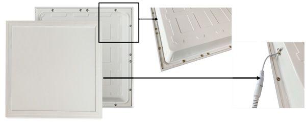 panel led empotrable retroiluminado backlight