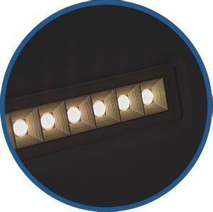 panel LED antideslumbramiento UGR