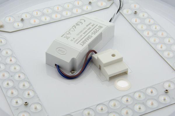 detalle led plafón smart wifi