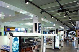 iluminación led de tiendas de estética y belleza