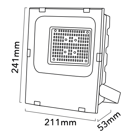 foco proyector LED para exterior