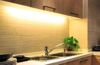 iluminación de cocinas con regletas led t5