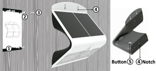 Instalacion lampara solar