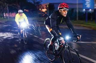 linterna solar led bicicleta ip 64