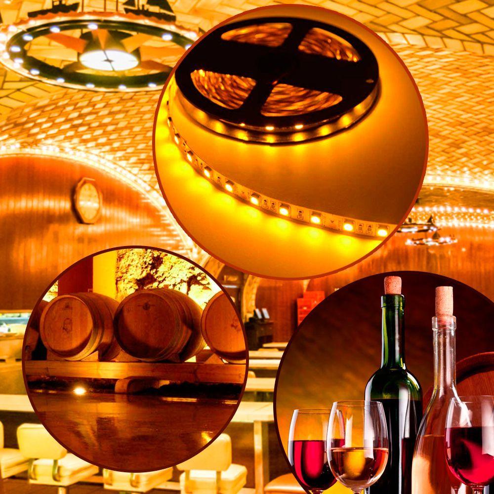 iluminación para vinos
