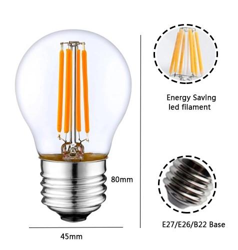 bombilla led filamento