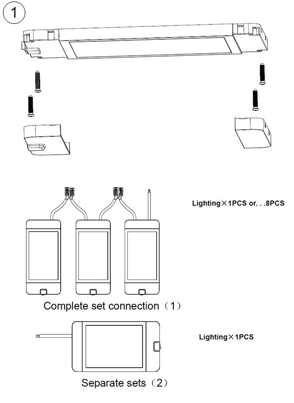 instalación Panel LED
