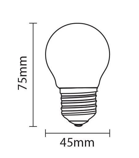 bombilla led esféricas