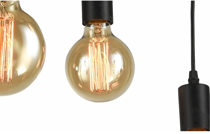 lámpara araña moderna