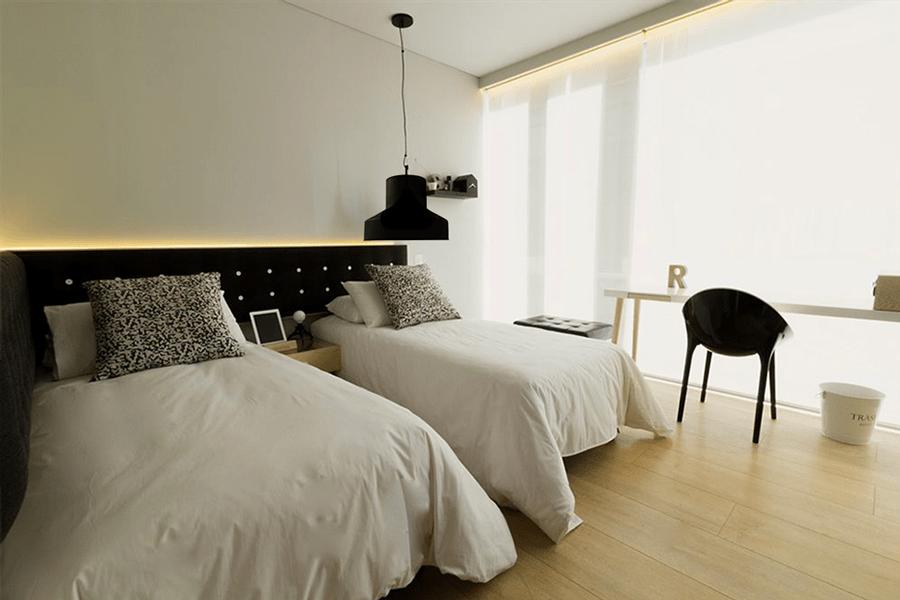 lámparas colgantes dormitorio
