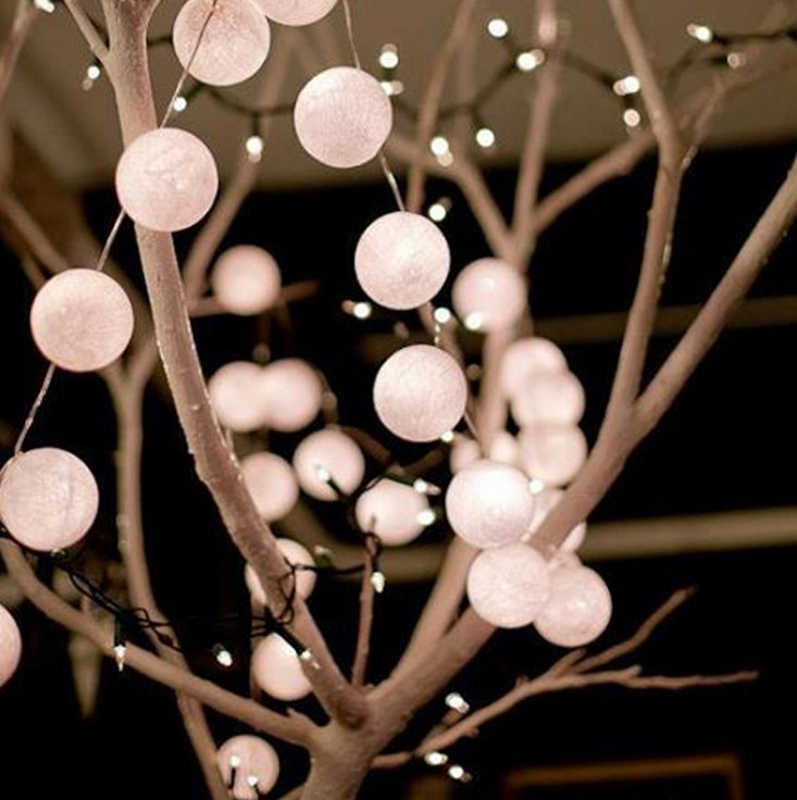 cadenas luminosas