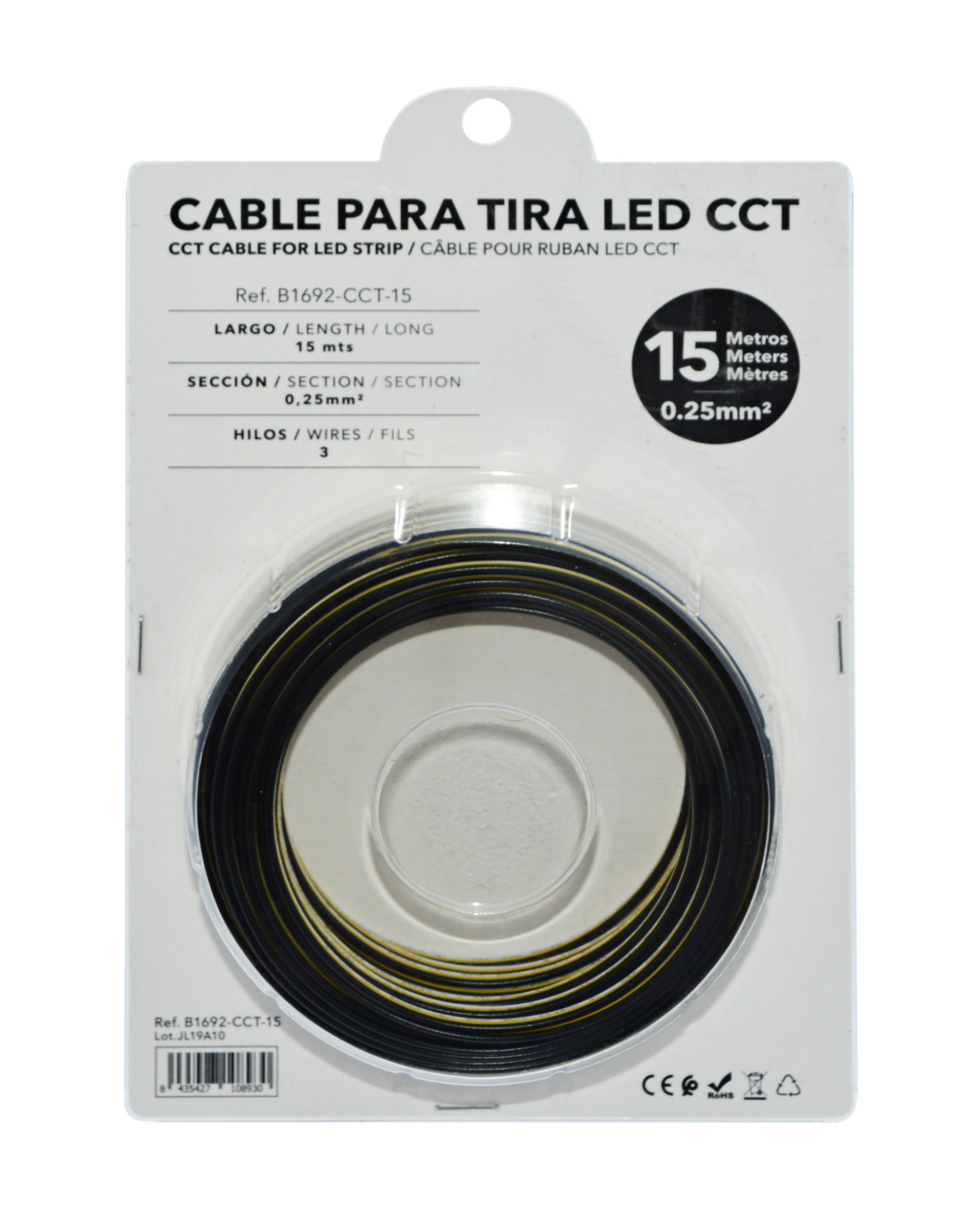 cable para tiras LED CCT