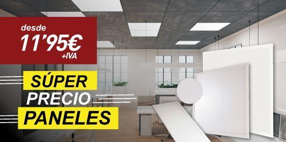 gran oferta descuento en paneles LED empotrables de techo