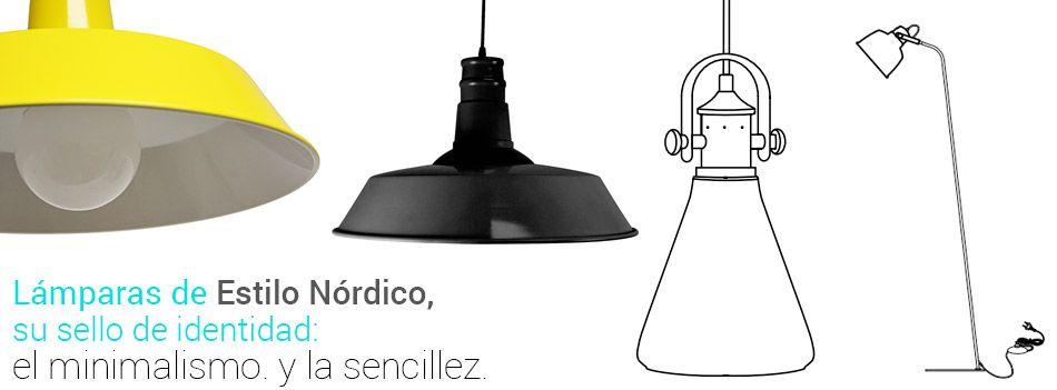 lamparas nórdicas, el minimalismo hecho luz