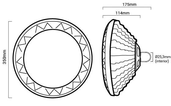 esquema campana industrial ufo