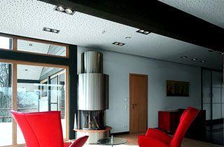 Kardan de acero para dos bombillas QR111 iluminación comercio
