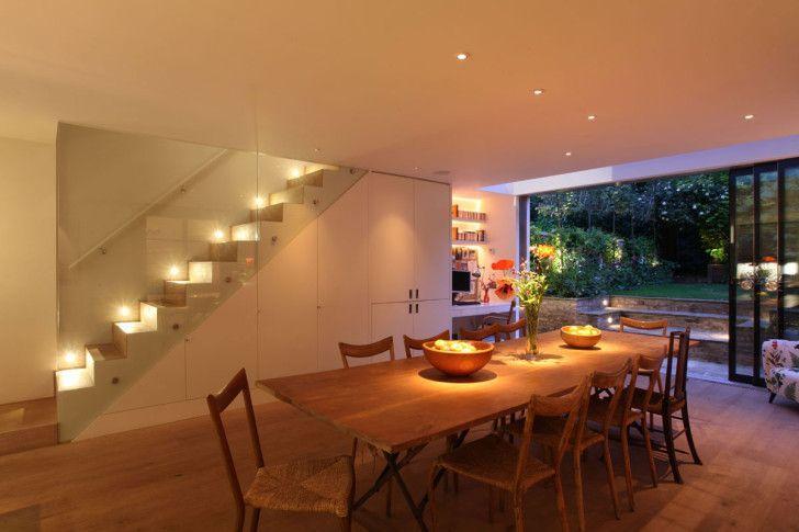 Puntos de luz led iluminaci n creativa - Iluminacion led escaleras ...