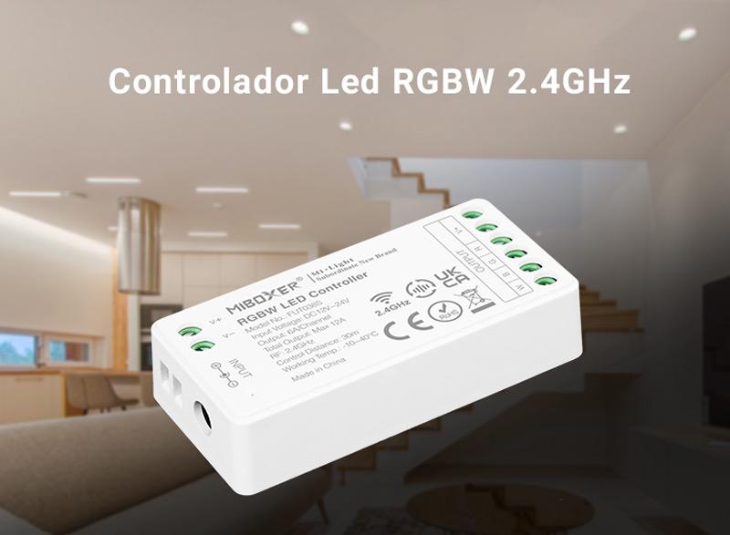 controlador RGBW milight fut038S