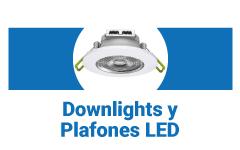 downlights y plafones LED