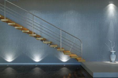 Clairage d 39 escaliers s curit et design barcelona led - Lamparas de escalera ...