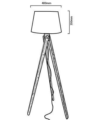 Lámpara LED Nashua de la serie Natural Lamps