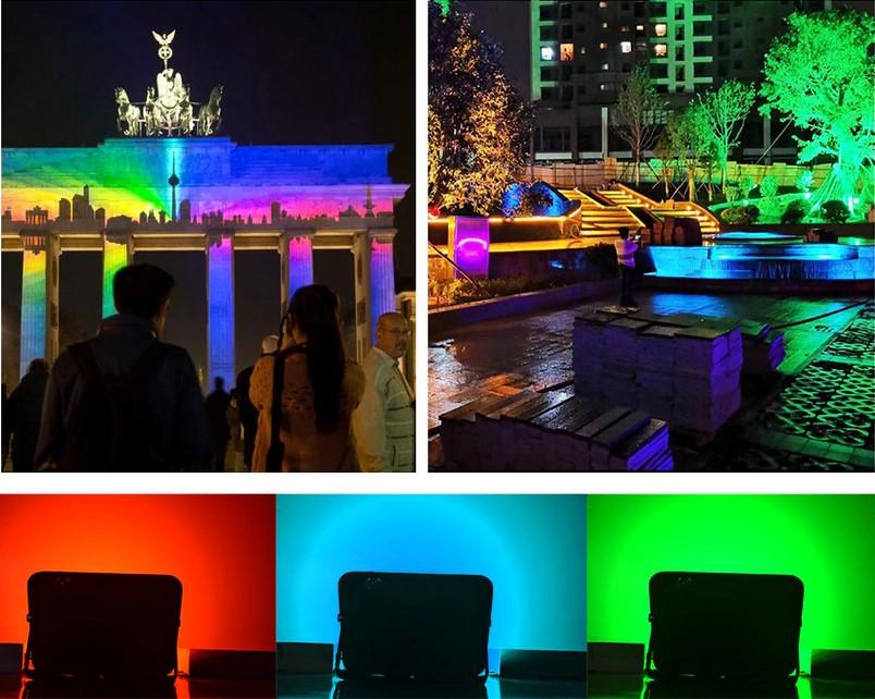 proyector led RGB