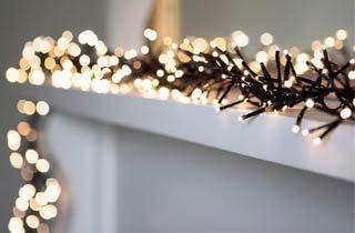 Guirnalda led solar decoración Navidad