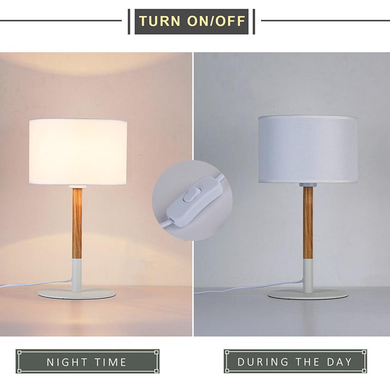 lámparas de mesa nórdicas