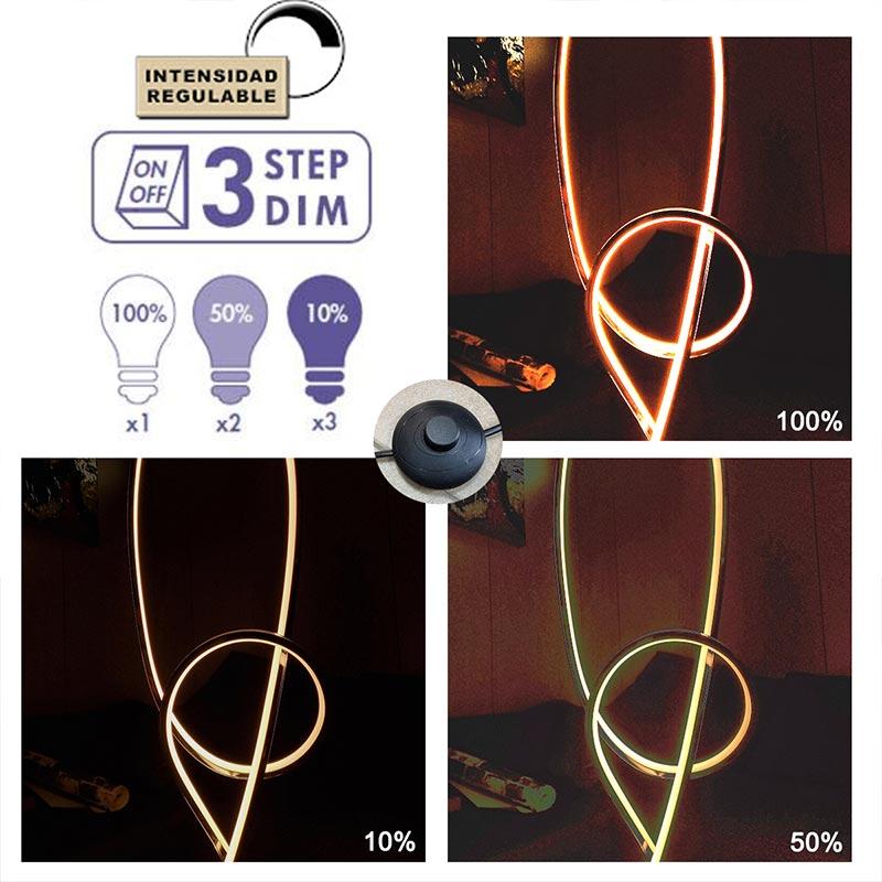 lámparas LED dimables