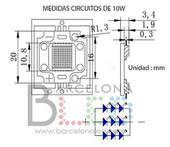 chip led cob 12v
