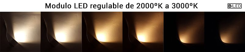único modulo led dimable