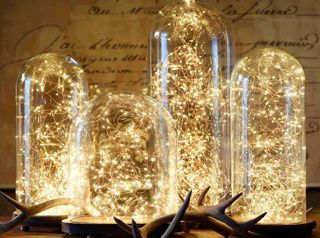 Guirnalda LED luminosa Fairy iluminación decorativa